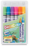 Paint markers art supplies at blick art materials art for Chroma mural paint markers