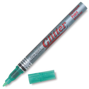 Glitter Green Marker