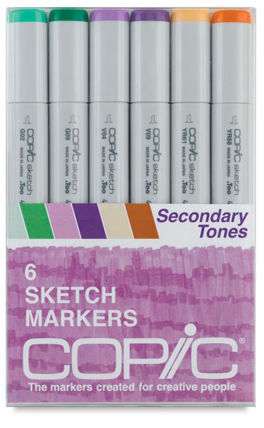 Secondary Tones, Set of 6