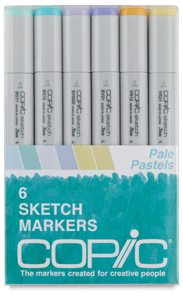 Pale Pastels, Set of 6