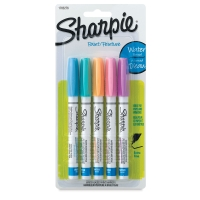 Set of 5, Pastels, Extra-Fine Point