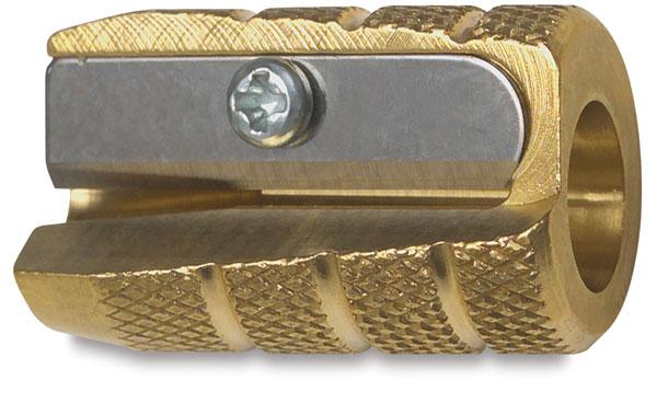 Brass Bullet Pencil Sharpener