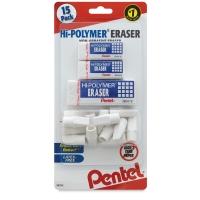 Hi-Polymer Erasers, Pkg of 15