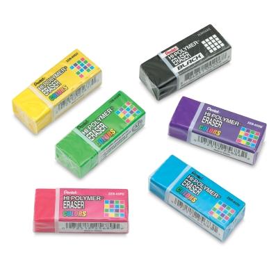 Hi-Polymer Erasers, Pkg of 6