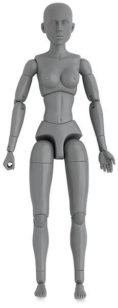 Female Model, Front