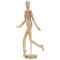 Hardwood Manikin, Female, 12""