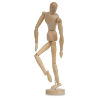 Hardwood Manikin, Male, 16""