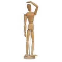 Hardwood Manikin, Female, 16""