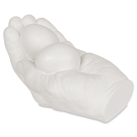 Plaster Hand with Eggs