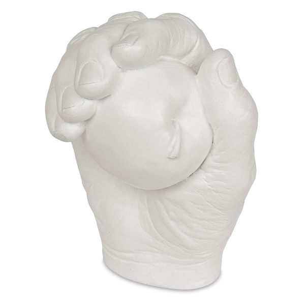 Plaster Hand with Apple