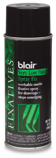 Spray Matte Fixative, Low Odor