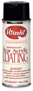 Clear Acrylic Coating Spray Varnish