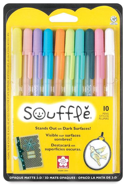 Soufflé 3-D Paint Pens, Set of 10
