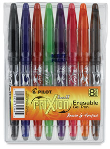 Frixion Erasable Gel Pen Set