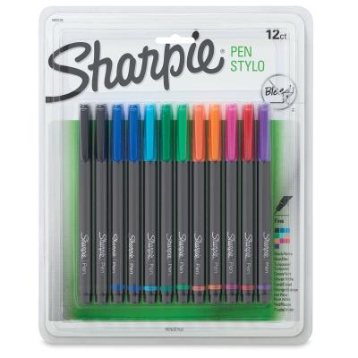 Sharpie Pen, Set of 12 Assorted Colors