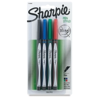 Sharpie Pen, Set of 4 Assorted Colors
