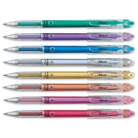 Set of 8, Metallic Colors