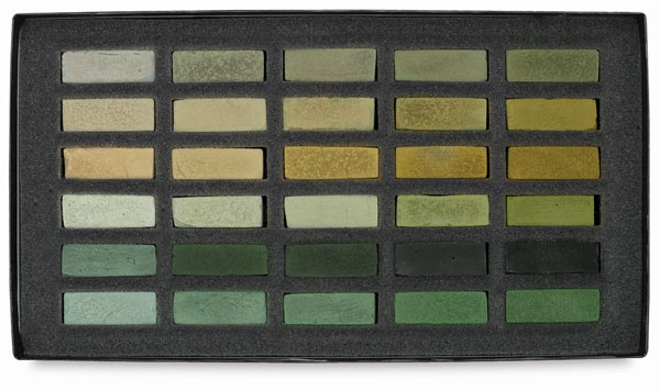 Neutral Greens, Set of 30