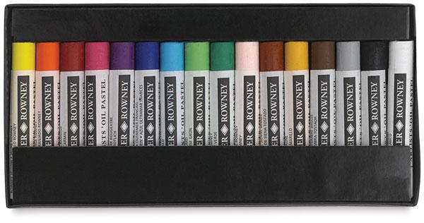 Oil Pastels, Set of 16