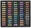 Half-Size Medium-Soft Pastel Sticks, Set of 60