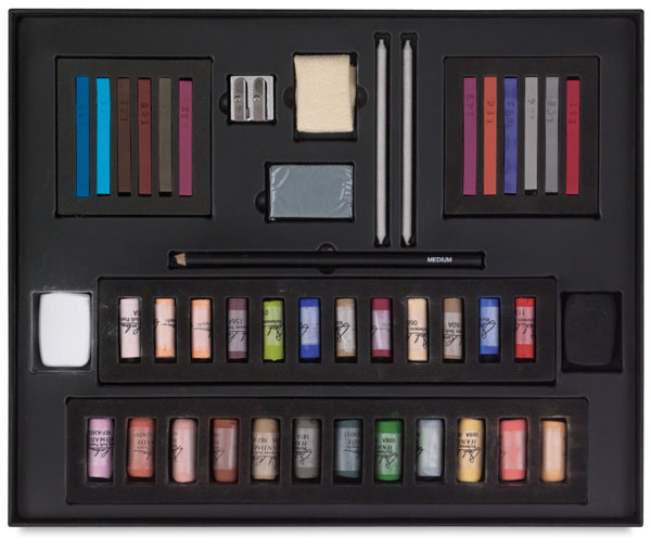 Half-Stick Foundation Pastel Set, Portrait