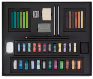 Half-Stick Foundation Pastel Set, Landscape