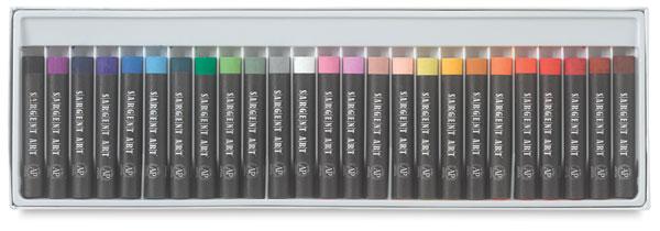 Artists' Oil Pastels, Regular, Set of 25