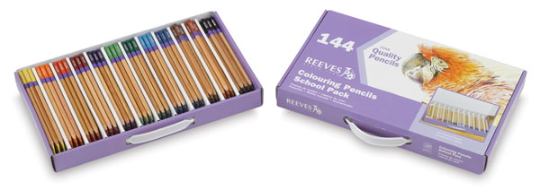 Colored Pencil School Pack