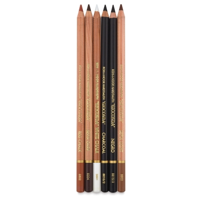 Artist's Pencils, Set of 6