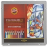 Polycolor Pencils, Set of 24 Colors