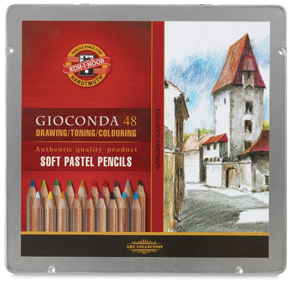 Soft Pastel Pencils, Set of 48