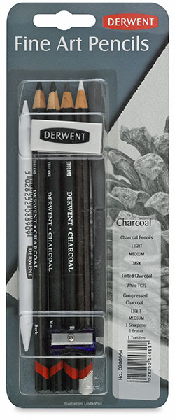 Charcoal Pencils Pack
