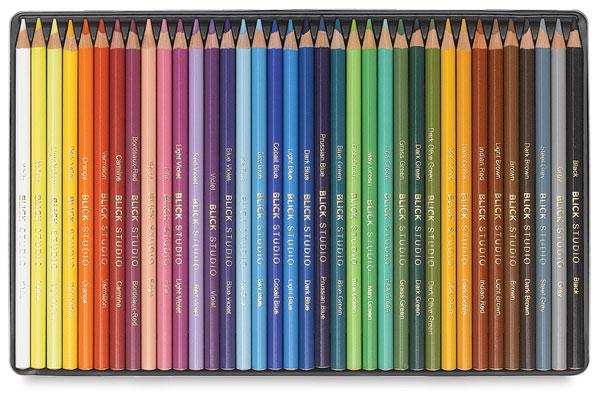 blick studio artists colored pencils and sets blick art materials