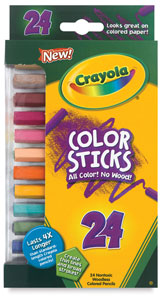 Color Sticks, Set of 24