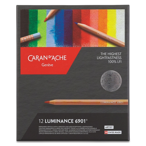 Luminance Colored Pencils, Set of 12