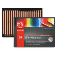 Luminance Colored Pencils, Set of 20