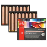 Luminance Colored Pencils, Set of 40