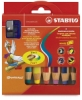 Stabilo Woody 3 in 1 Pencils