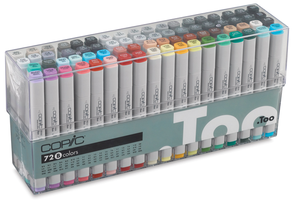 Original Markers, Set B of 72 Colors, Design Values
