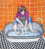 """""""Deluge-inal Housewife"""" by Tina Browder"""