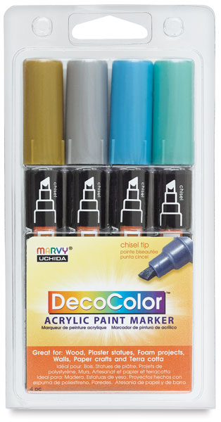 Metallic Colors, Set of 4