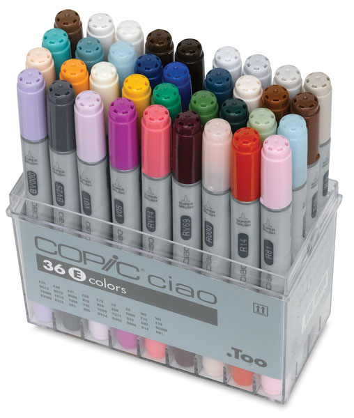 Set E of 36 Markers