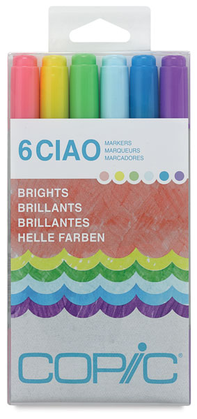 Bright Colors, Set of 6
