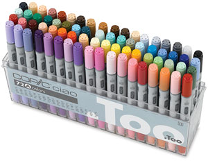 Set A of 72 Markers