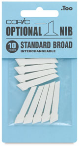Original Replacement Nibs, Set of 10, Standard Broad