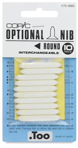 Original Replacement Nibs, Set of 10, Round
