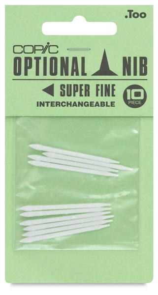 Original Replacement Nibs, Set of 10, Super Fine