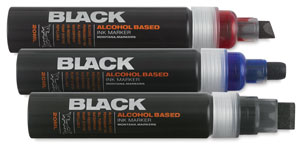 Montana Black Dye Ink Markers