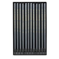 Woodless Graphite Pencils, Set of 12