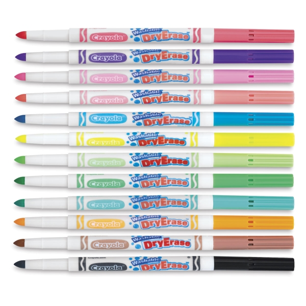 crayola washable dry erase markers blick art materials